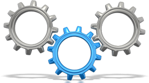 three gear Implementation