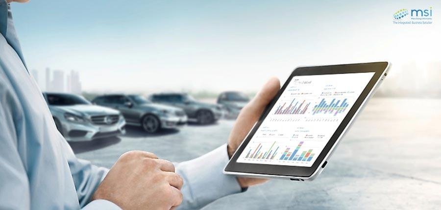 Cars parking Dealer Management System